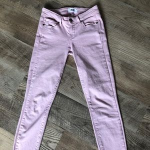 Paige Verdugo Ankle Skinny Jeans 24 Pink
